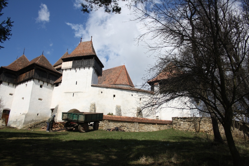 Fortified church in Viscri