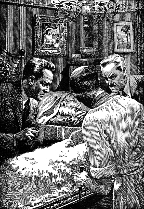 What Was It by Fitz James O'Brien - Illustration From Famous Fantastic Mysteries