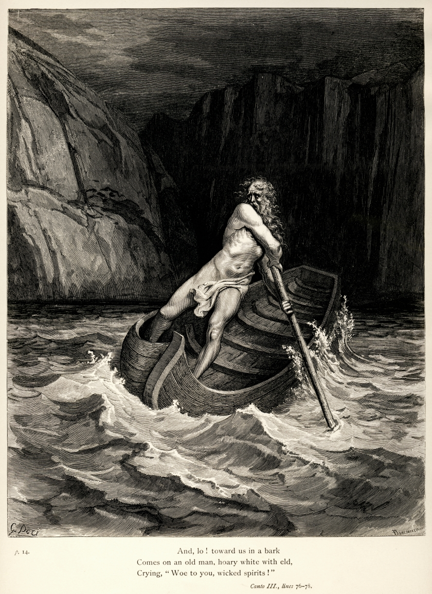 Gustave Doré's illustration to Dante's Inferno.