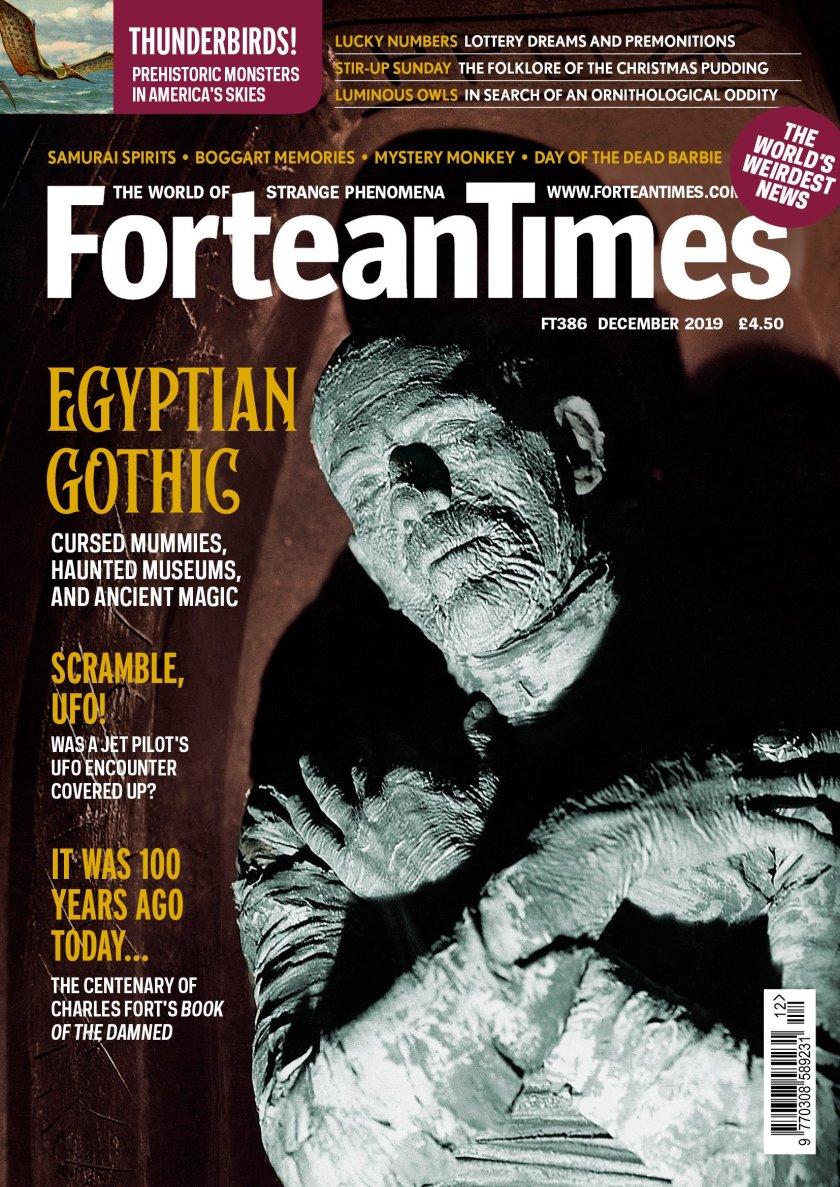 Fortean Times - Egyptian Gothic